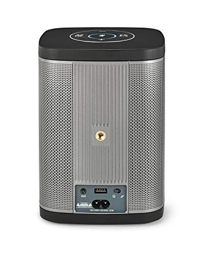 RIVA Concert with Alexa Built-in – Finally A Wireless Smart Speaker That Sounds Truly Amazing – WiFi, Airplay and Bluetooth Connectivity, Splash Resistant and Optional Battery (Black) by RIVA (Image #1)