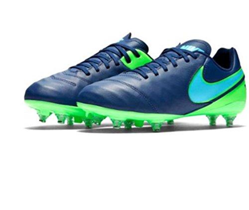 Nike 852500-443, Botas de Fútbol para Niños Azul (Coastal Blue / Polarized Blue / Rage Green)