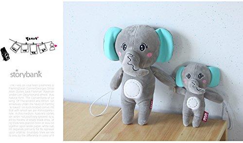 SCTD Cartoon Animal Curtain Holdback — 2PCS Cute Elephant Curtain Tieback Buckle Hook Fastener for Baby Kids Nursey Window Treatment Decoration (Gray Elephant)