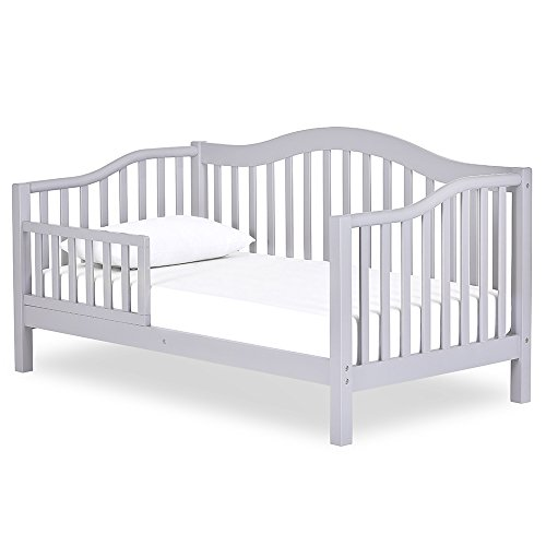 Dream On Me Austin Toddler Day Bed, Pebble Grey
