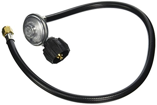 Regulator Mounted (Weber 7627 QCC1 Hose and Regulator Kit for Genesis Gas Grill, 30-Inch)