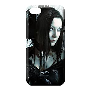 iphone 4 4s cell phone skins Snap-on covers protection stylish gothic girl birds