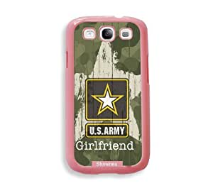 Shawnex US Army Girlfriend Camo ThinShell Protective Pink Plastic - Galaxy S3 Case - Galaxy S III Case i9300