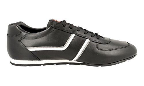 Sneaker In Pelle Prada Mens 4e2735 O3y F0a64