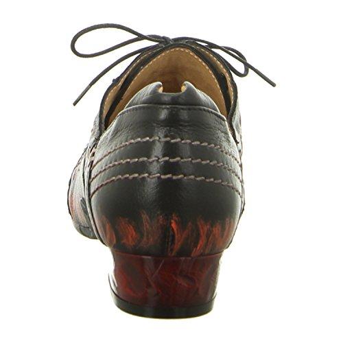 Maciejka Para Zapatos 02375 5 00 De Cordones Mujer Czarny 01 470r4gwZq