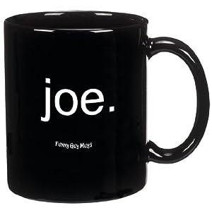 funny guy mugs joe ceramic coffee mug black 11ounce