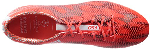 adidas F50 Adizero Firm Ground - Zapatillas de fútbol para hombre Solar Red/Ftwr White/Core Black