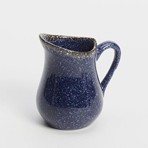 American Metalcraft PBBU4 Artisanal Porcelain Bell Creamer, Blue, -