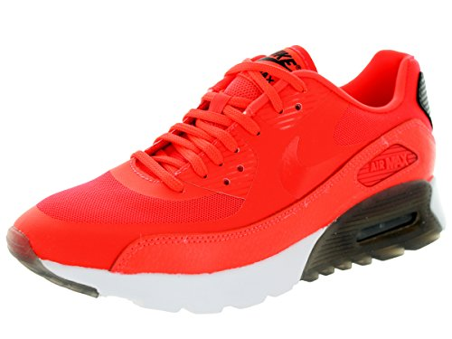 NIKE White Max Black 90 Uomo Red Air da Scarpe ginnastica Leather 6v6Zqw