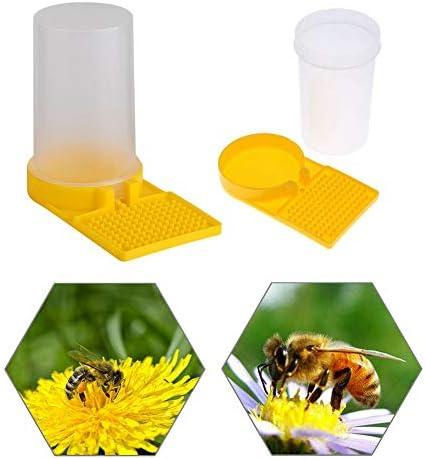 Riuty Bienenzufuhr, Bienenwasser-Zufuhr-Trinkwasser-Ausr¨¹stungs-K?nigin perforierte automatische Waterers-Honig-Bienenstock-Eingangs-Zufuhr
