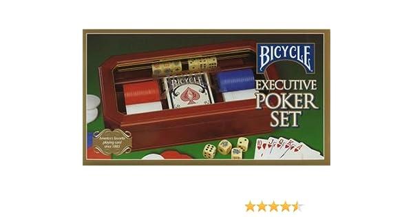 Bicycle executive poker set baccarat training app