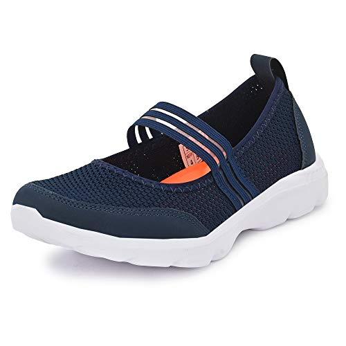 Belini Women's Navy Blue Running Shoes