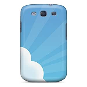 Galaxy S3 Cover Case - Eco-friendly Packaging(cartoon Sky)
