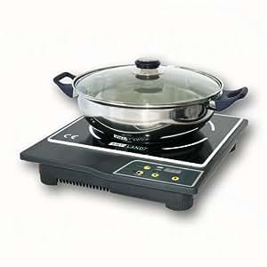 Cocina inducción 1800 vatios + Cacerola