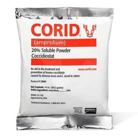 Country Vet Farm - Merial Corid 20 Soluble Powder (10 oz)