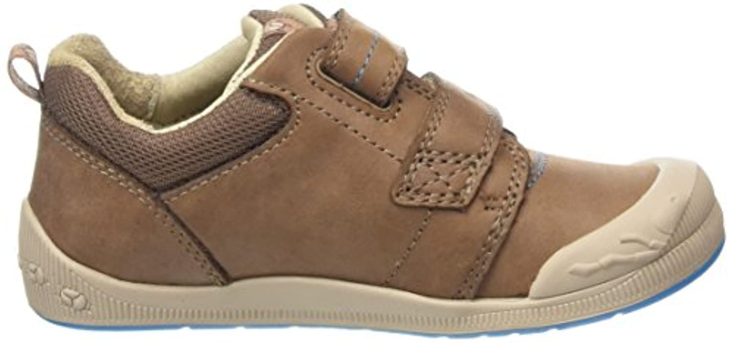 Start-rite Super Soft Beetlebug Large, Boys' Low-Top Sneakers, Brown (Brown), 7.5 Child UK (25 EU)