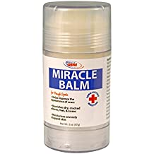 Miracle Plus Moisturizing Balm Lasting Relief From Rough Dry Spots Chaffing, Scars, Rash. Easy to Use Roll-on.