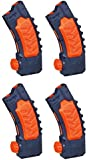 Nerf Super Soaker Banana Clip Pack of 4 Clips Bundle