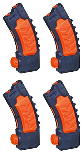 nerf-super-soaker-banana-clip-pack-of-4-clips-bundle