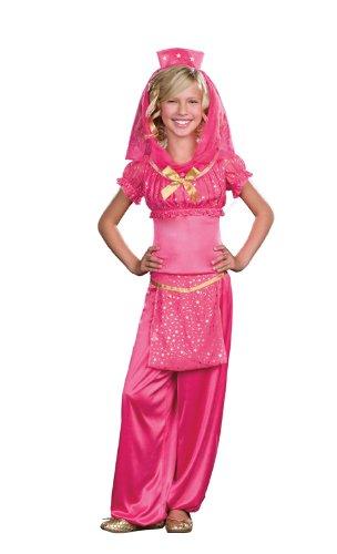 Genie May K Wish Costume - Teen Small (Pink Genie Costume)