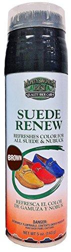 Moneysworth & Best Suede Renew Dye, 5 Ounces, Medium Brown – DiZiSports Store