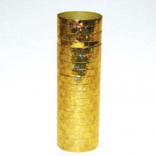 gold serpentine streamers - 7