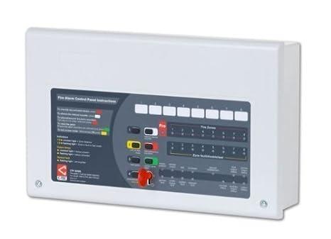 CT02 - cfp704 - 2 Alarmas 4 Zonas 2 Cables convencionales PANEL de CONTROL de alarma de incendio: Amazon.es: Bricolaje y herramientas
