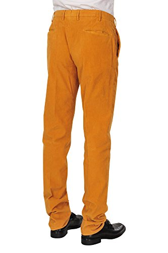 Incotex Pantalon Homme 50 Orange / Pantalon buisness Taille normale Coupe droite R
