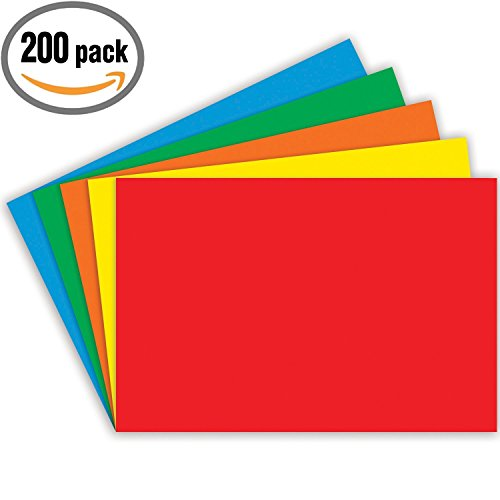 (Top Notch Teacher Products Blank Index Cards (200 Count), 4