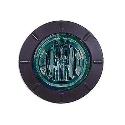 "Maxxima M09400G Green 1.25\"" Round LED Mini Courtesy Marker Light: Automotive [5Bkhe1507682]"
