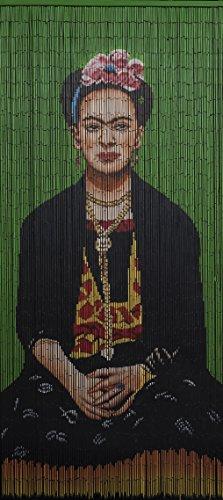 Beads of Paradise NYC Bamboo Beaded Curtain Hand Painted - Frida (G)