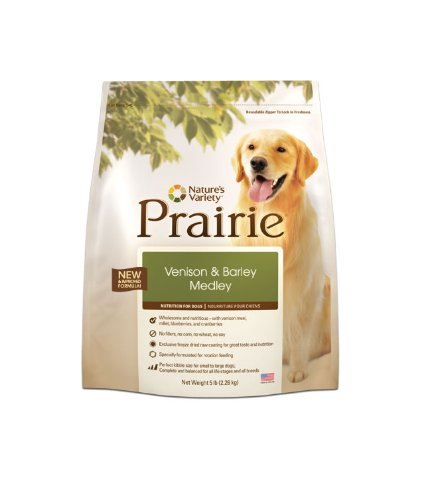 PRAIRIE Venison and Barley Medley, 15 Pound