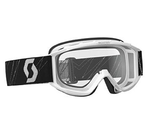 - Orange Cycle Parts White Frame Clear Lens Junior/Youth 89Si MX/Off-Road/Dirt Bike Motorcycle Goggles Eyewear by Scott 218158