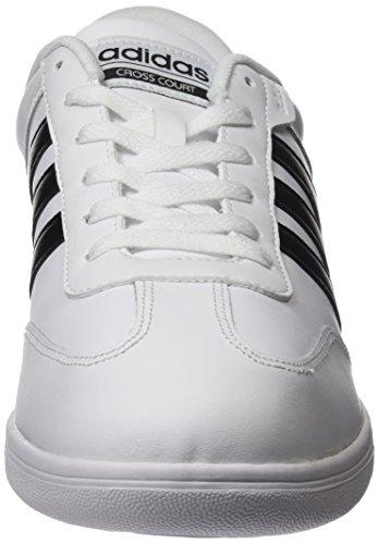 adidas CROSS COURT - Zapatillas deportivas para Hombre, Blanco - (FTWBLA/NEGBAS/NEGBAS) 48