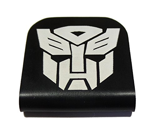 Transformers Autobot Morale Tags Hat Clip for Tactical Patch Caps - Transformer Black Name