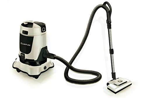 Quantum Vacuum- Water Filtration Vac, No filters, Air purifier (White, Like New)