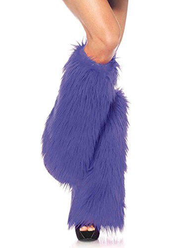 Leg Avenue Womens Furry Leg Warmers