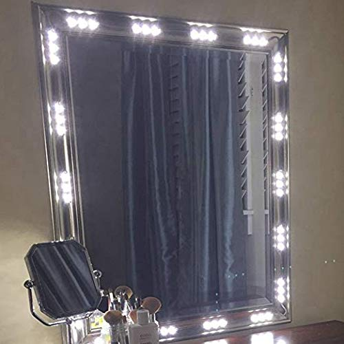 60 LEDs 9.8 FT Make-up Vanity Mirror Light DIY Light Kits for Cosmetic Makeup Vanity Mirror with Power Supply UL Certificate by OK LED