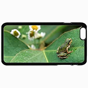 Customized Cellphone Case Back Cover For iPhone 6 Plus, Protective Hardshell Case Personalized Insect Black