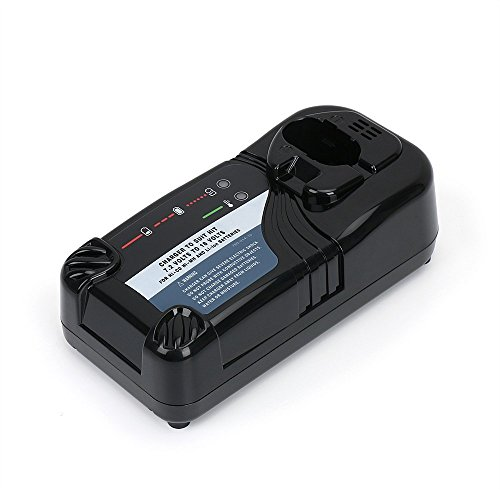 Battery Charger UC18YRL for Hitachi 7.2V-18V Ni-Cd/Ni-MH/Li-ion Batteries, Ideal for FEB7S FEB9S FEB12S EB1214L EB1214S EB1220BL EB1212S EB1412 322435 by REEXBON