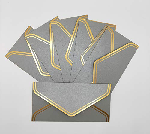 Invitation Envelopes Metallic Luxury Color Perfect for Invitations Baby Shower Graduation Announcements, Sending Cards