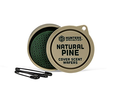 Hunters Specialties Natural Pine Cover Scent Wafers (3 Pack) ()