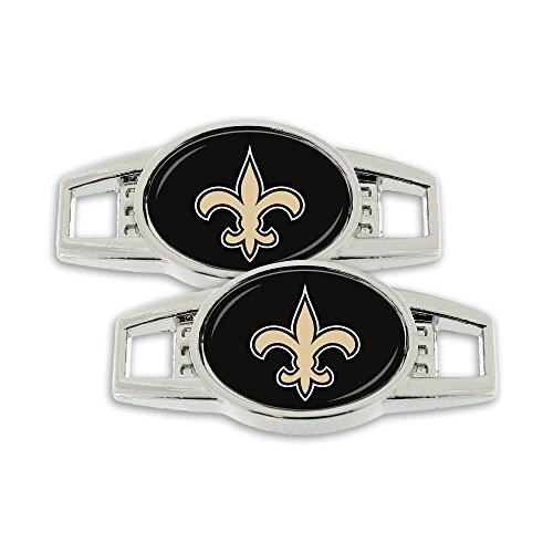NFL New Orleans Saints Shoe Charm, 2-Pack