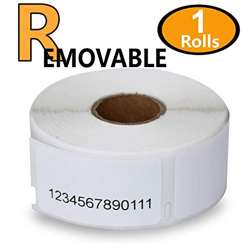 1 Rolls Dymo 30330 Removable Compatible 3/4