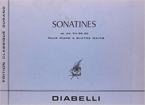 En ligne téléchargement gratuit Sonatines (5) --- Piano 4 Mains pdf