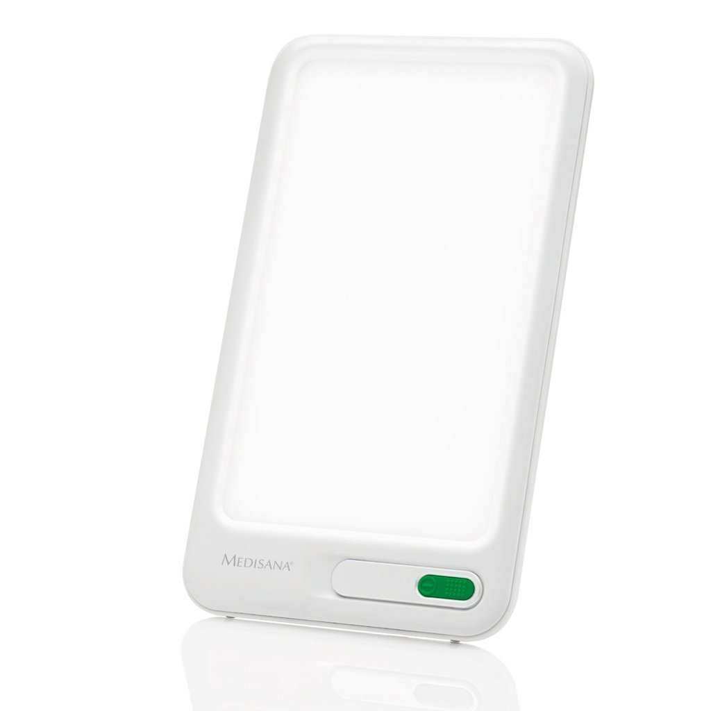 Medisana LT 460 Tageslichtlampe 45220, Lichttherapie gegen Depressionen, Lichtdusche, simuliert Tageslicht mit einer Lichtstärke von 10,000 Lux, weiß product image
