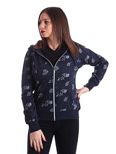 Key up SF39 0001 Sweatshirt Femmes Bleu XXL