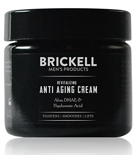 Brickell Men's Revitalizing Anti-Aging Cream For Men, Natural & Organic Anti Wrinkle Night Face Cream - 2 oz