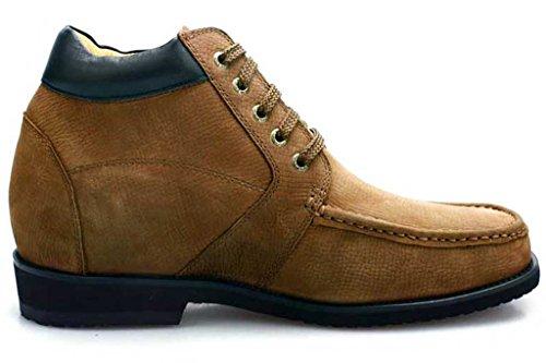 Chamaripa Hoogte Toenemende Inlegzolen Schoenen Heren Casual Laarzen Lift Schoenen 3.54 Groter V1931