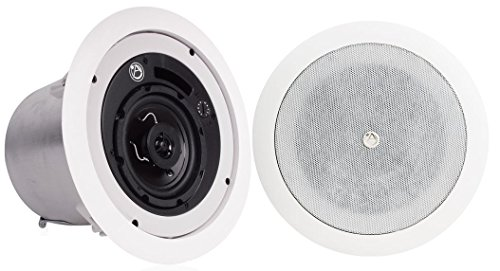 Atlas Sound FAP42T Strategy II Series 4 inch Coaxial In-Ceiling Loudspeaker - Pair by Atlas Sound